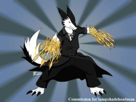 COM : Sash with Falcon's Talons by whiteguardian