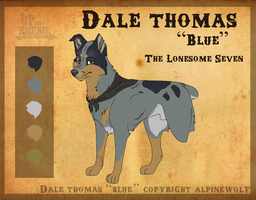 Dale Thomas 'The Blue Thief' by WickedSpecter