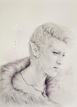 Kris fanart - Neverland: Portrait of the Wild by e11ie