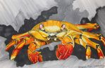 Crab in Copic by Lenh