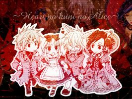 Heart Alice wallpaper by LuneBlanc