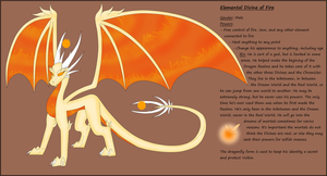 Elemental Divines: Fire by SlyNoodles