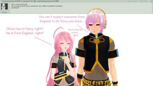 Question 23 for Luka and Luki by AskTheMegurines