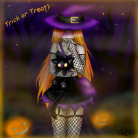 Trick or Treat? by Neko-Maya