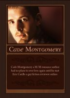 Five Star Review trading card - Cade Montgomery by ajCorza