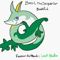 Basil the Serperior by MineralRabbit