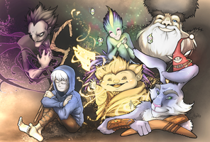 ROTG_the guardians by OJanSan