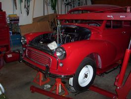 59 Morris WIP: Engine by CapnAhab