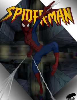 Spider-man by Shroggy