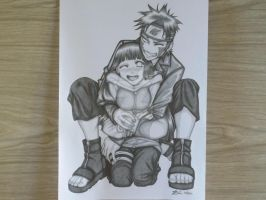 Hinata and Kiba by HumbleScarlet