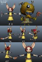 "Rin ""Rinidinger"" The Assistant by RinTheYordle"