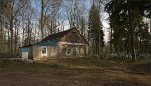 Gatehouse at the cemetery by NikolaiMalykh