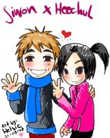 Siwon and HeeChul love by Helsic