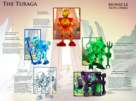 Bionicle- Nova Orbis- The Turaga by NickinAmerica