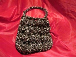 Knit Videotape Purse by SelahJanel