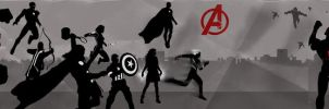 Age of  Ultron banner by Mr-Saxon