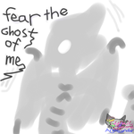 Ghost of me self by CynderAngelDWOship14