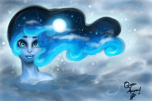 Queen Amoon Dark OC by JamilSC11