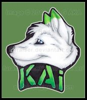 Head Shot Badge: Kai Mitsuki 2012 by AirRaiser