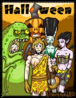 Halloween special by Samholy
