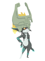 Midna - Cell shaded by Aleitheo