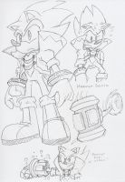 Hammer Sonic Concept by BlueIke