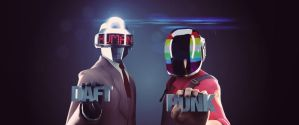DAFT PUNK by p1nkyfromyt