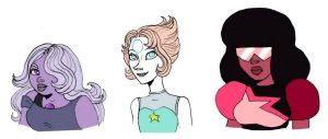 Crystal Gems by Lily-pily