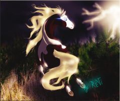 Rain : SPIRIT : Stallion of the Cimarron by EMILY-LIGHT-REVI