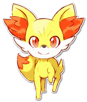 653 Fennekin by SarahRichford