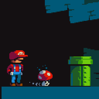 Obligatory Mario Pixel by Goodlyay