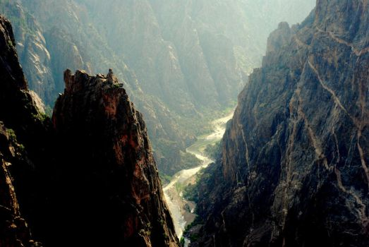 Black Canyon of the Gunnison by jaredks