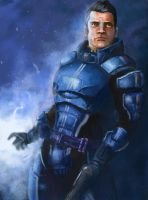 Mass Effect - Kaidan Alenko by jocker909