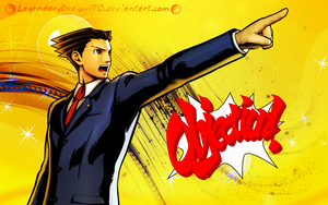 Phoenix Wright Wallpaper by LegendaryDragon90
