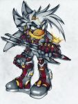 :cybernetics the hedgehog: by I-CyBeR-NeTiCs-I