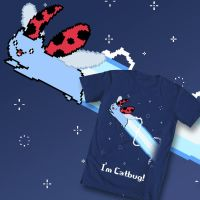 Nyan Catbug Shirt Design by wanton-fox