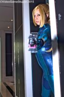 Katsucon 2015 - Zerosuit Samus(PS) 05 by VideoGameStupid