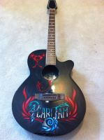 Pearl Jam Guitar Front by BoaGrafix