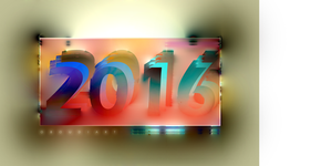 ART 2590 - new year 2016 by oboudiart