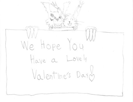 Jrl and Gabriel's Valentine's Day Card by Guilrel