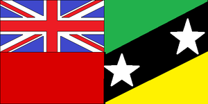 St. Kitts and Nevis Ensign by dragonvanguard