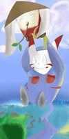 Who says a pochu can't fly? by Xetak6