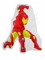 ironman coloured in photo shop by marty0x