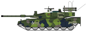 Panzarvagn 2 Main Battle Tank by Kuname