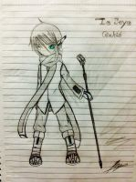 Vocaloid Seyo Ginloid by UnitInfinity