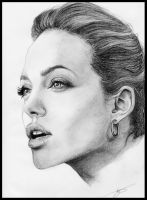Angelina Jolie by Monkey-Jack