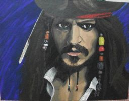 Captain Jack Sparrow by ArtIsLife88