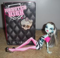 Monster high book 1 with Frankin by ManaShadow369