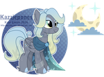 Pale Starlight MLP OC Auction [CLOSED] by Kazziepones
