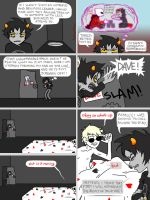 Homestuck:  Dave Has Morning Irony by krazorspoon